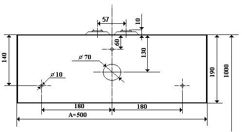 H0 kétvágányú modul